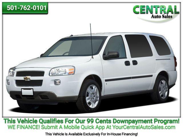 2008 Chevrolet Uplander LS | Hot Springs, AR | Central Auto Sales in Hot Springs AR