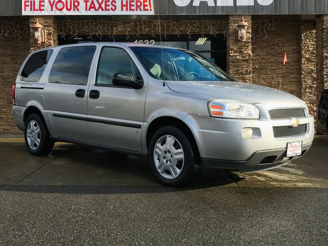 2008 Chevrolet Uplander LS The CARFAX Buy Back Guarantee that comes with this vehicle means that y
