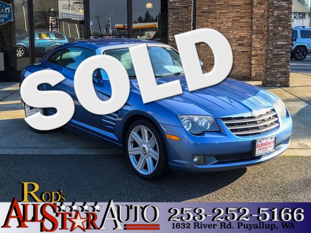 2008 Chrysler Crossfire Limited The CARFAX Buy Back Guarantee that comes with this vehicle means t