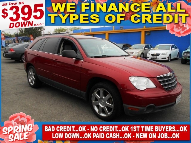 2008 Chrysler Pacifica Touring Limited warranty included to assure your worry-free purchase AutoC