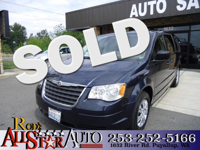 2008 Chrysler Town  Country LX Youd be hard-pressed to find a vehicle that offers more interior