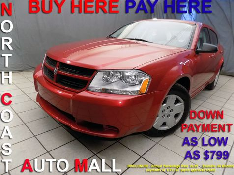 2008 Dodge Avenger SE As low as $799 DOWN in Cleveland, Ohio