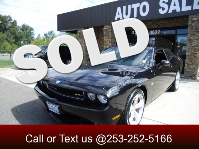 2008 Dodge Challenger SRT8 61 Hemi Our 2008 Challenger SRT8 is the real deal Theres more front