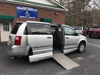 2008 Dodge Grand Caravan handicap wheelchair accessible rear entry van Dallas, Georgia 1