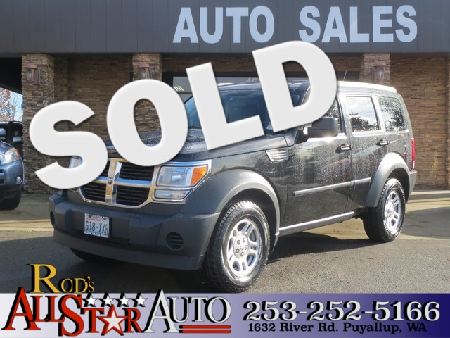 2008 Dodge Nitro SXT 4WD The CARFAX Buy Back Guarantee that comes with this vehicle means that you