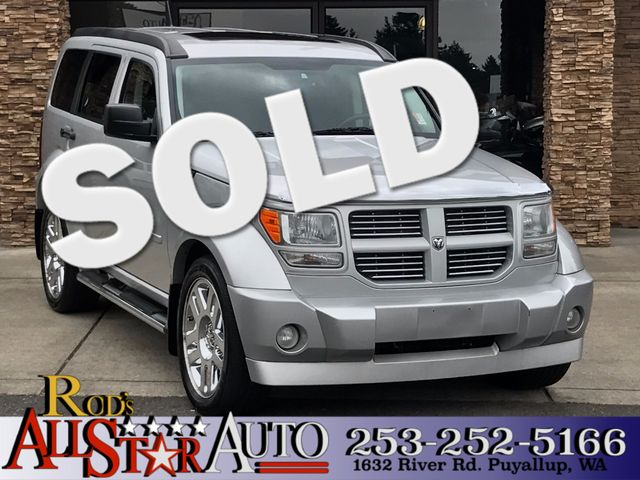 2008 Dodge Nitro RT 4WD The CARFAX Buy Back Guarantee that comes with this vehicle means that you