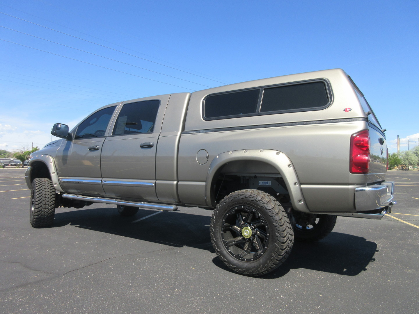 2008 dodge ram 1500 laramie mega cab 4x4 5 lift fultons. Black Bedroom Furniture Sets. Home Design Ideas