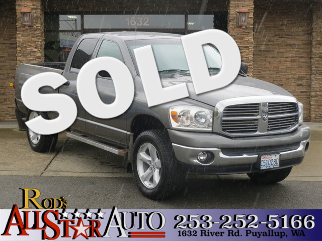 2008 Dodge Ram 1500 SLT 4WD The CARFAX Buy Back Guarantee that comes with this vehicle means that