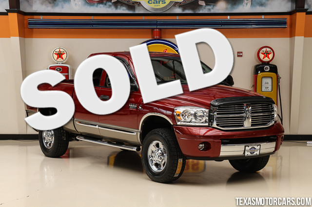 2008 Dodge Ram 2500 Laramie 4x4 Financing is available with rates as low as 29 wac Get pre-ap