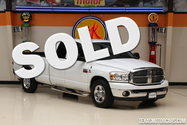 2008 Dodge Ram 2500 SLT This clean Carfax 2008 Dodge Ram 2500 SLT is in great shape with only 104