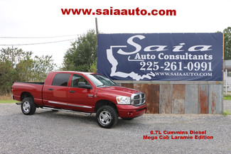 2008 Dodge Ram 2500 Mega Cab 4wd Laramie 6.7 Diesel Moon Roof Tow Pkg NO FLOOD One Owner Clean Car Fax | Baton Rouge , Louisiana | Saia Auto Consultants LLC-[ 2 ]