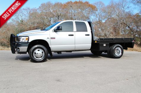 2008 Dodge Ram 3500 SLT - 4X4 - 6 SPEED - FLATBED - LOW MILES in Liberty Hill , TX