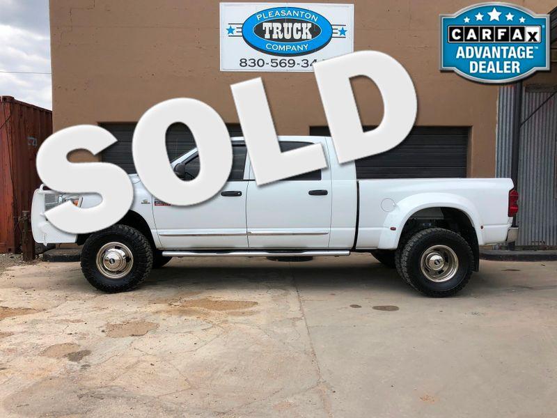 2008 Dodge Ram 3500 Laramie   Pleasanton, TX   Pleasanton Truck Company in Pleasanton TX