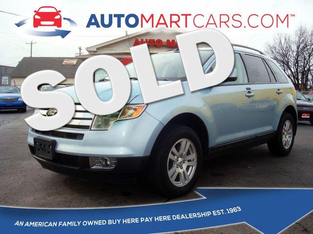 2008 Ford Edge SEL | Nashville, Tennessee | Auto Mart Used Cars Inc. in Nashville Tennessee