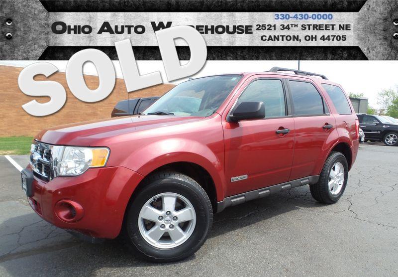2008 Ford Escape 1-Owner Clean Carfax We Finance | Canton, Ohio | Ohio Auto Warehouse LLC in Canton Ohio