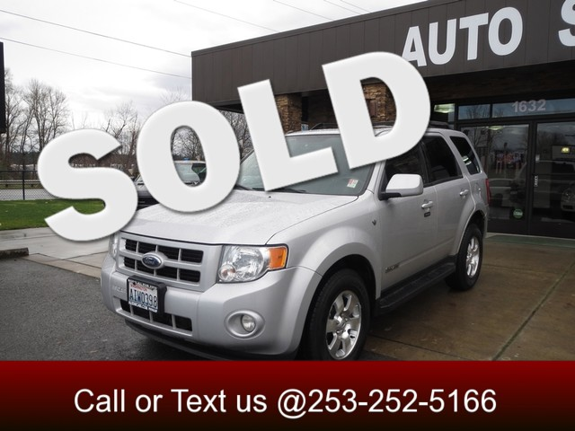 2008 Ford Escape Limited 4WD The 2008 Ford Escape was thoroughly updated for 2008 boosting the ap