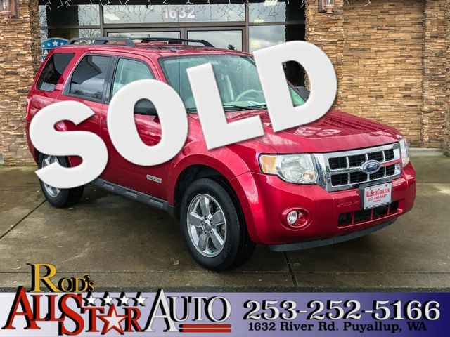 2008 Ford Escape XLT 4WD This vehicle is a CarFax certified one-owner used car Pre-owned vehicles