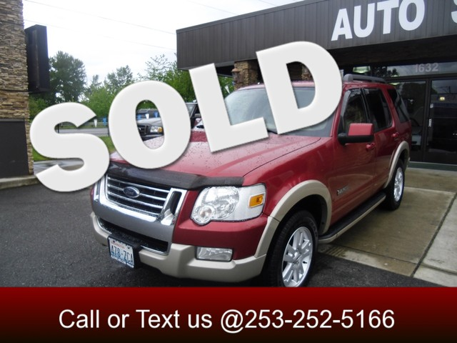 2008 Ford Explorer Eddie Bauer 4WD The CARFAX Buy Back Guarantee that comes with this vehicle means