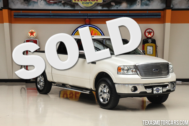 2008 Ford F-150 Lariat This 2008 Ford F-150 Lariat is in great shape with only 181 029 miles The