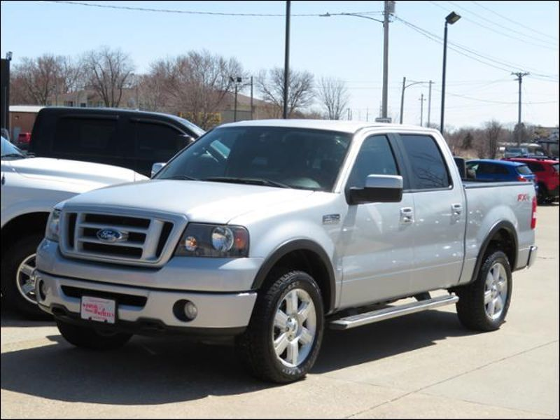 2008 Ford F-150 4WD SuperCrew FX4 Leather/20s/Buckets  in Ankeny IA
