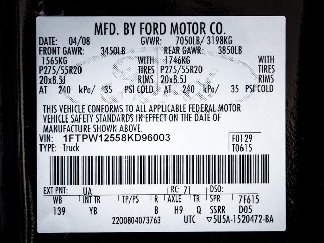 2008 Ford F-150 FX2 Burbank, CA 9