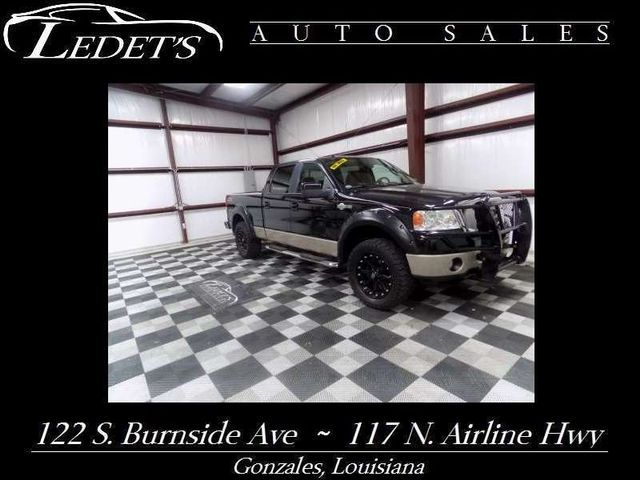 2008 Ford F-150 King Ranch FX4 4WD - Ledet's Auto Sales Gonzales_state_zip in Gonzales Louisiana