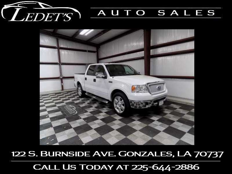 2008 Ford F-150 Lariat - Ledet's Auto Sales Gonzales_state_zip in Gonzales Louisiana