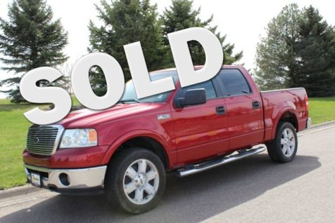 2008 Ford F-150 Lariat SuperCrew Short Box 4WD in Great Falls, MT