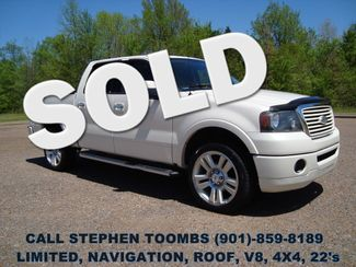 2008 Ford F-150 LIMITED, NAVI, ROOF, 4X4, V8, 22's, BACK-UP CAM in  Tennessee