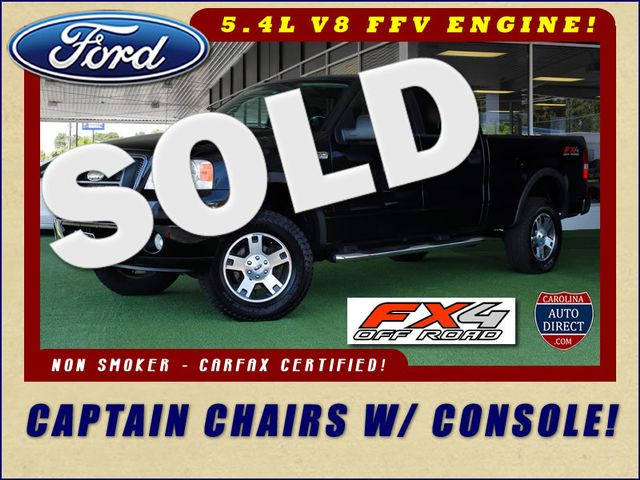 2008 Ford F-150 FX4 SuperCrew 4x4 - CAPTAIN CHAIRS/CONSOLE! Mooresville , NC 0