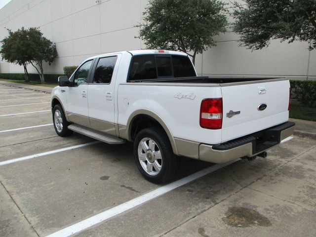 2008 Ford F-150 1 Owner Clean Car Fax King Ranch Super Crew Plano, Texas 11