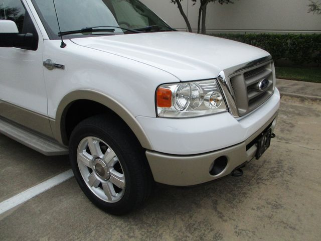 2008 Ford F-150 1 Owner Clean Car Fax King Ranch Super Crew Plano, Texas 7