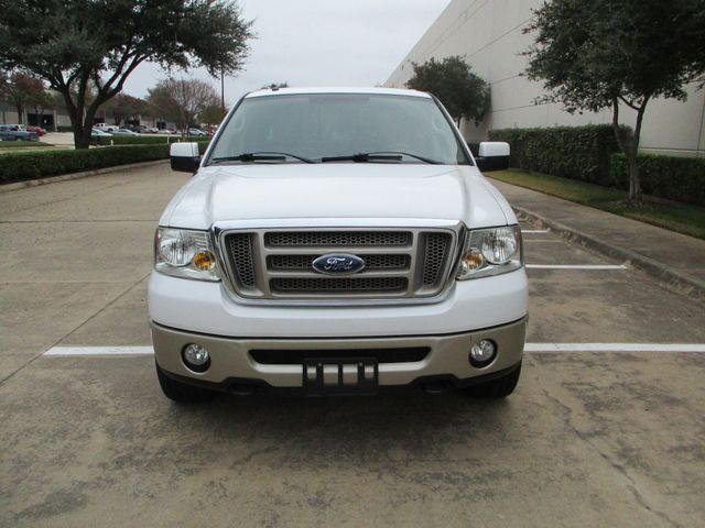 2008 Ford F-150 1 Owner Clean Car Fax King Ranch Super Crew Plano, Texas 8