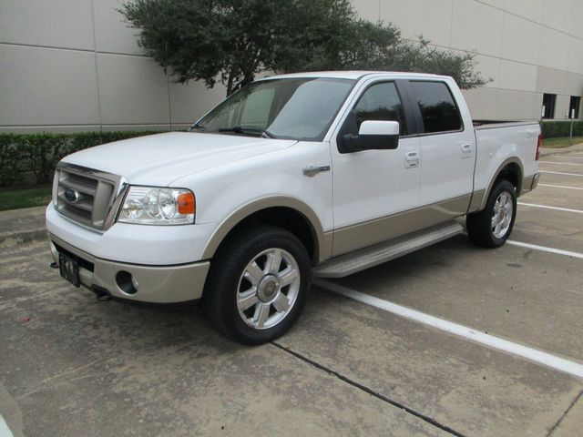 2008 Ford F-150 1 Owner Clean Car Fax King Ranch Super Crew Plano, Texas 9