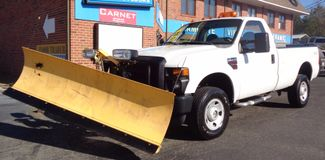 2008 Ford F-350 4X4 DIESEL SNOW PLOW TRUCK  LOW MILES 88K AT 8' BED 1 OWNER SUPER CLEAN Richmond, Virginia 22