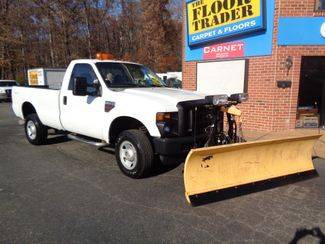 2008 Ford F-350 4X4 DIESEL SNOW PLOW TRUCK  LOW MILES 88K AT 8' BED 1 OWNER SUPER CLEAN Richmond, Virginia 3