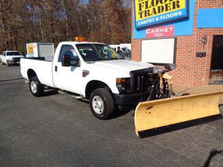 2008 Ford F-350 4X4 DIESEL SNOW PLOW TRUCK  LOW MILES 88K AT 8' BED 1 OWNER SUPER CLEAN Richmond, Virginia 65