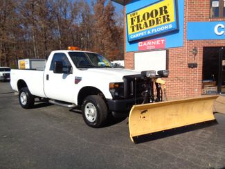 2008 Ford F-350 4X4 DIESEL SNOW PLOW TRUCK  LOW MILES 88K AT 8' BED 1 OWNER SUPER CLEAN Richmond, Virginia 64