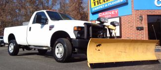 2008 Ford F-350 4X4 DIESEL SNOW PLOW TRUCK  LOW MILES 88K AT 8' BED 1 OWNER SUPER CLEAN Richmond, Virginia 44