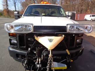 2008 Ford F-350 4X4 DIESEL SNOW PLOW TRUCK  LOW MILES 88K AT 8' BED 1 OWNER SUPER CLEAN Richmond, Virginia 4