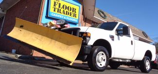 2008 Ford F-350 4X4 DIESEL SNOW PLOW TRUCK  LOW MILES 88K AT 8' BED 1 OWNER SUPER CLEAN Richmond, Virginia 25