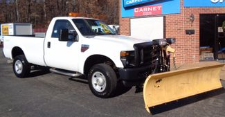 2008 Ford F-350 4X4 DIESEL SNOW PLOW TRUCK  LOW MILES 88K AT 8' BED 1 OWNER SUPER CLEAN Richmond, Virginia 66