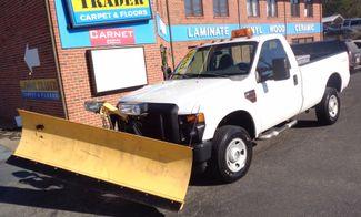 2008 Ford F-350 4X4 DIESEL SNOW PLOW TRUCK  LOW MILES 88K AT 8' BED 1 OWNER SUPER CLEAN Richmond, Virginia 1