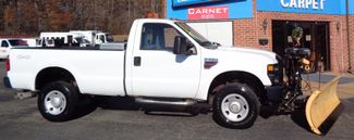 2008 Ford F-350 4X4 DIESEL SNOW PLOW TRUCK  LOW MILES 88K AT 8' BED 1 OWNER SUPER CLEAN Richmond, Virginia 55