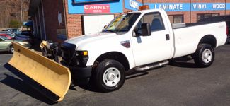 2008 Ford F-350 4X4 DIESEL SNOW PLOW TRUCK  LOW MILES 88K AT 8' BED 1 OWNER SUPER CLEAN Richmond, Virginia 26
