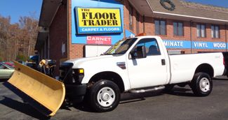 2008 Ford F-350 4X4 DIESEL SNOW PLOW TRUCK  LOW MILES 88K AT 8' BED 1 OWNER SUPER CLEAN Richmond, Virginia 27