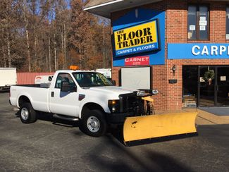 2008 Ford F-350 4X4 DIESEL SNOW PLOW TRUCK  LOW MILES 88K AT 8' BED 1 OWNER SUPER CLEAN Richmond, Virginia 17