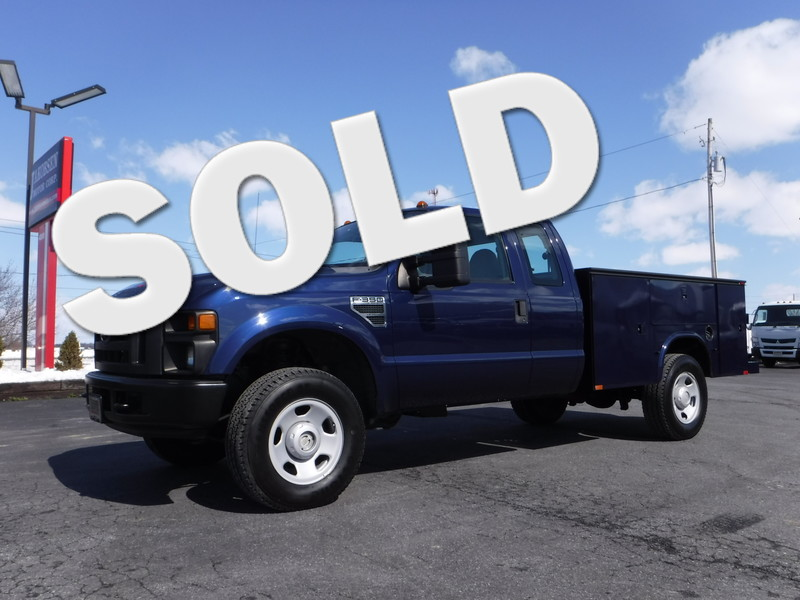 2008 Ford F350 Extended Cab Utility 4x4 in Ephrata PA