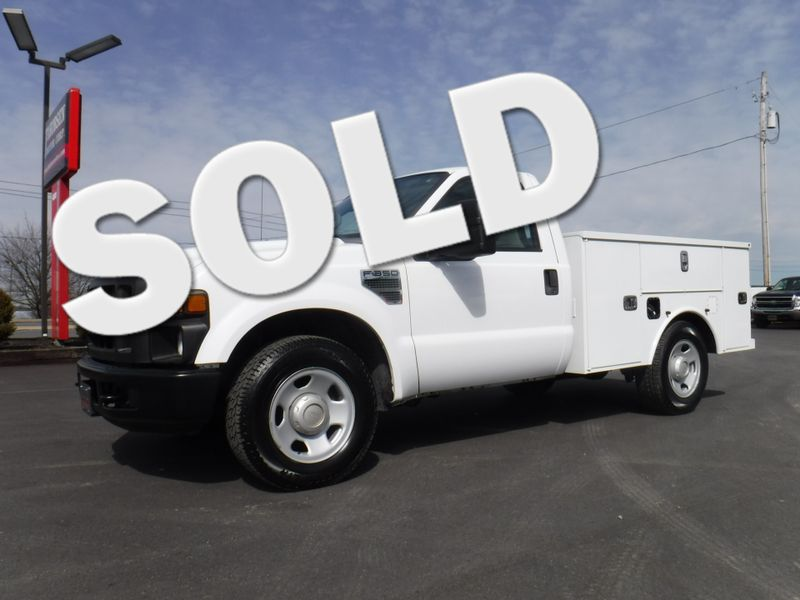 2008 Ford F350 New Altec Utility Bed 2wd 6.8L V10  in Ephrata PA