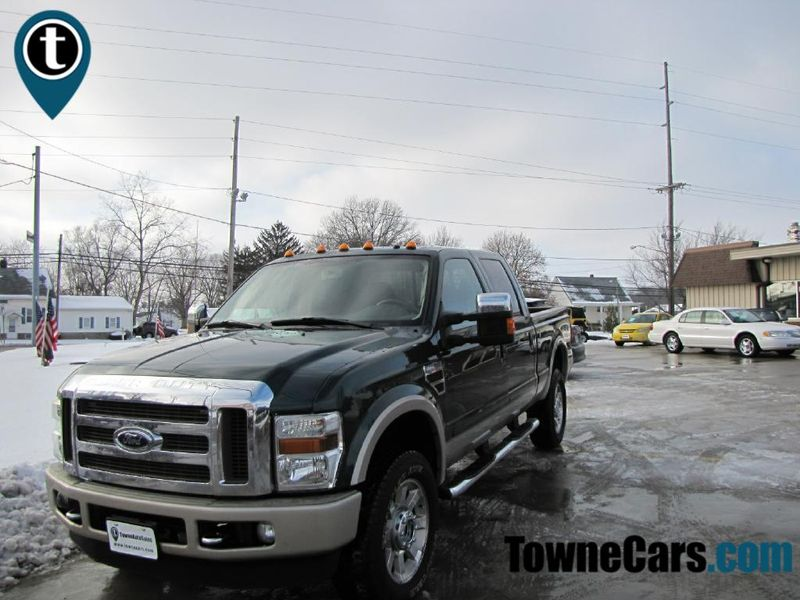2008 Ford F350 KING RANCH SRW SUPER DUTY | Medina, OH | Towne Auto Sales in Medina OH